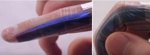 Capturar - Nova tecnologia permite que você controle seu smartphone usando sua pele