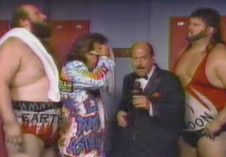 WWF / WWE: Summerslam 1991 - The Natural Disasters with Jimmy Hart