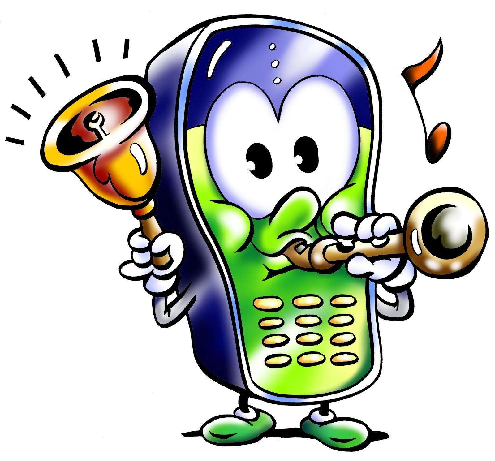 clip art of phone ringing - photo #27