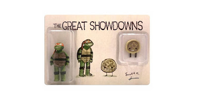 New York Comic Con 2018 Exclusive The Great Showdowns Teenage Mutant Ninja Turtles Resin Figure Set by Scott C x DKE Toys