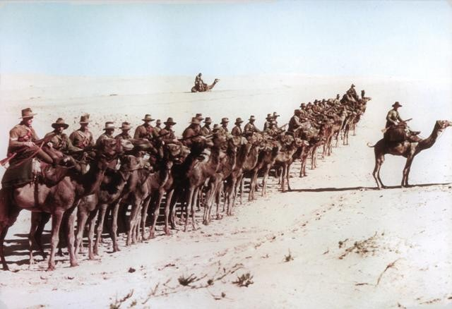 The Charge of the Light Horse, Beersheba, 1917.