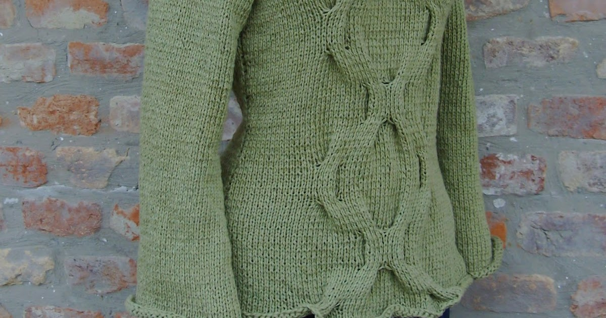 kötött pulóver ujjának fogyasztása