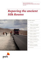 Source: PwC. Cover for the Repaving the ancient Silk Routes report.