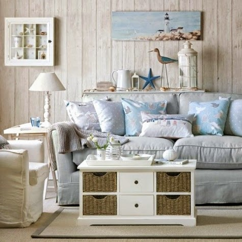 wood panelled accent wall living room driftwood look