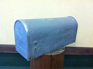 23 - カスタムペイント工程 郵便ポスト 奈良フレイムス