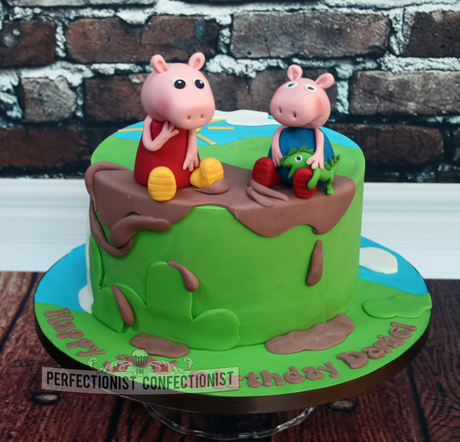The Perfectionist Confectionist Daniel Peppa Pig Birthday Cake
