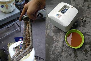 Bảo dưỡng thay thanh lọc cặn bình nóng lạnh