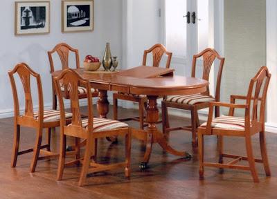rusztikus asztalok és székek