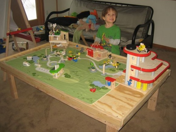 Winterground Fairlands A World Of Funmagineering Jaspers Play Table – Plan Toys Car Garage