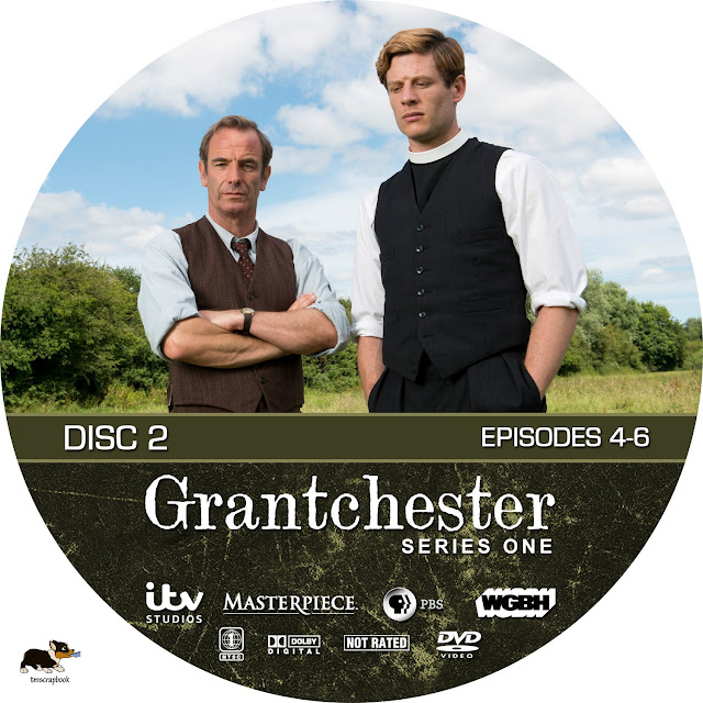 Grandchester Season 1 Disc 2 DVD Label