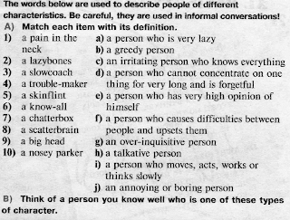 blog: Character and personality adjectives