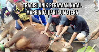 Tradisi Unik Perayaan Natal Marbinda dari Sumatera