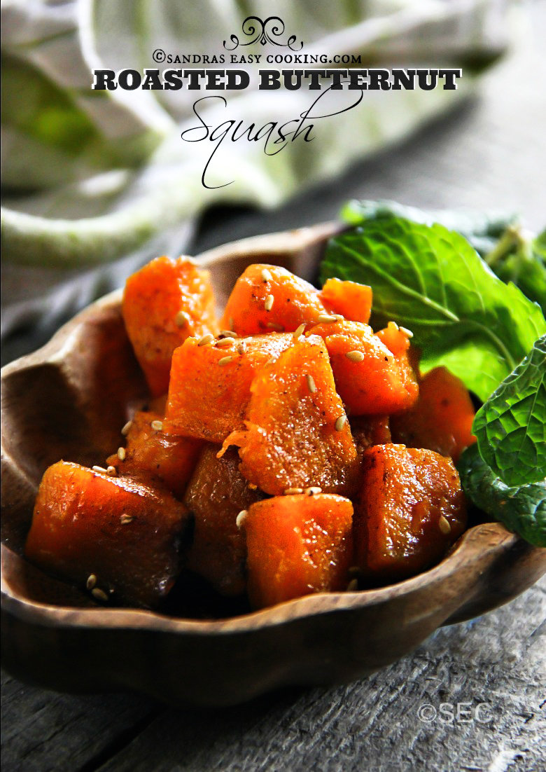 Roasted Butternut Squash #recipe