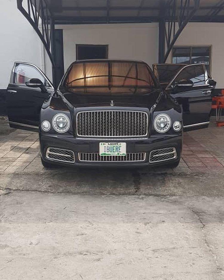 Kenneth Bramor Buys 2019 Bentley Super Luxury Mulsanne