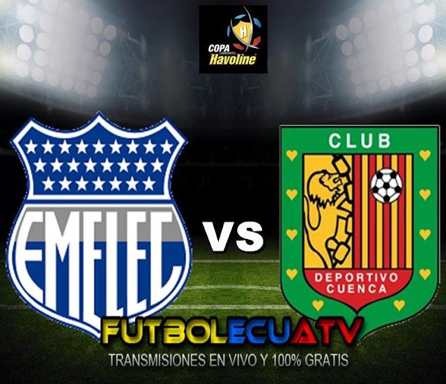 Emelec recibe a Deportivo Cuenca en vivo a partir de las 17h00 horario programado por la FEF a disputarse en el reducto George Capwell siendo uno de los cotejos más importantes de la fecha cinco del campeonato nacional, con arbitraje principal de Guillermo Guerrero siendo transmitido por el canal oficial GolTV.