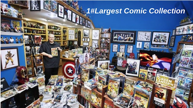 Largest Comic Collection