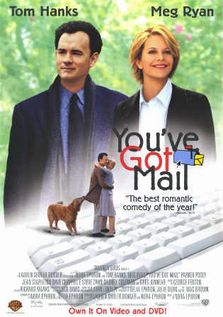 You've Got Mail 1998 BluRay 400MB Hindi Dual Audio 480p ESub Watch Online Full Movie Download bolly4u