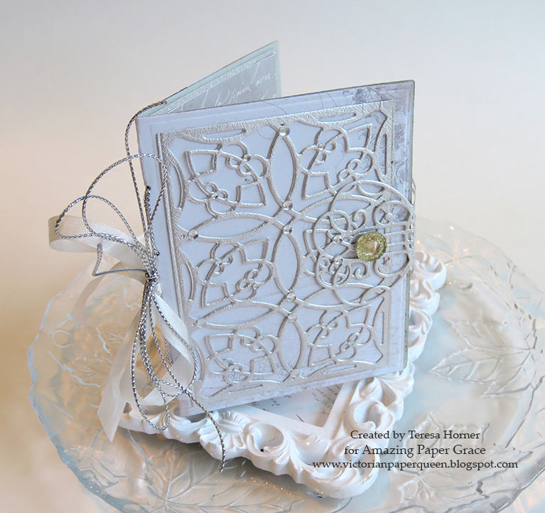 Victorian Paper Queen Wedding Gift Mini Book For The Bride