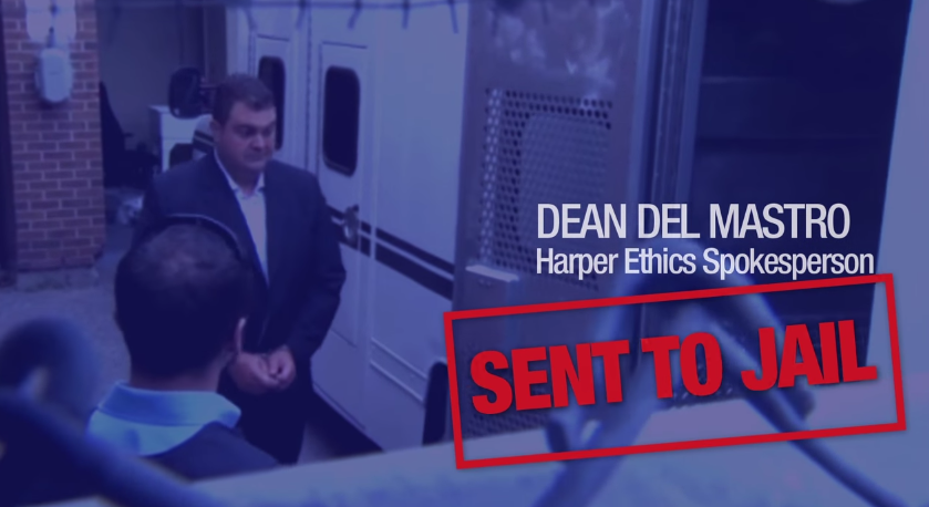 NDP Attack Ad Highlights Canadian Criminal Politicians