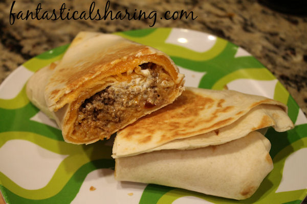 Copycat Quesarito | It's a quesadilla, it's a burrito...no, it's a quesarito! #TacoBell #copycat #recipe