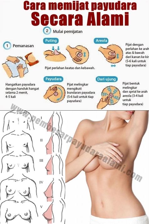 Cara yang tepat memijat payudara agar hasilnya maksimal