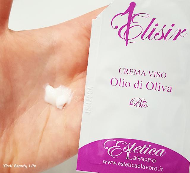 crema viso olio di oliva estetica e lavoro