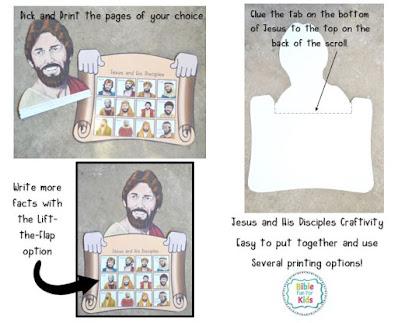 https://www.biblefunforkids.com/2020/09/Jesus-and-His-disciples-craftivity.html