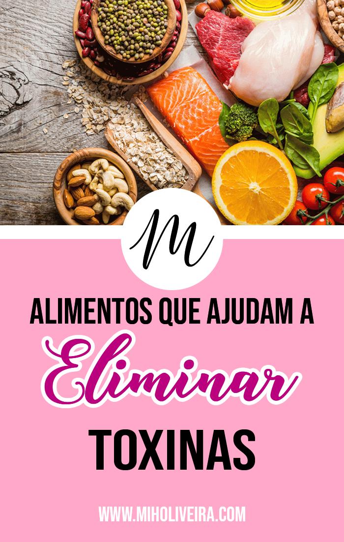 Alimentos para ajudar a eliminar toxinas