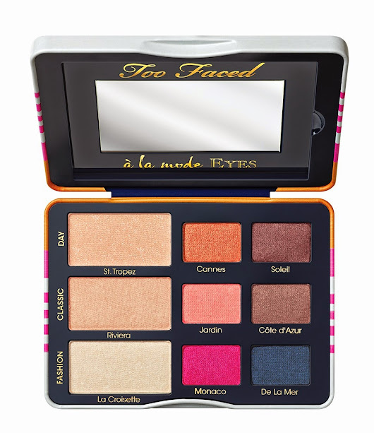 Too Face A La Mode Palette: The Sexy St. Tropez Collection