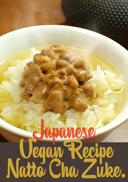 Japanese healthy vegan recipe