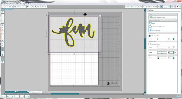 Come utilizzare singoli file .png nella modalità Print & Cut | Silhouette Cameo step6