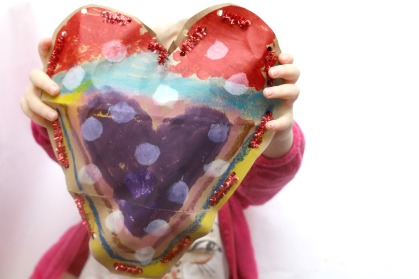 valentine's day crafy for kids