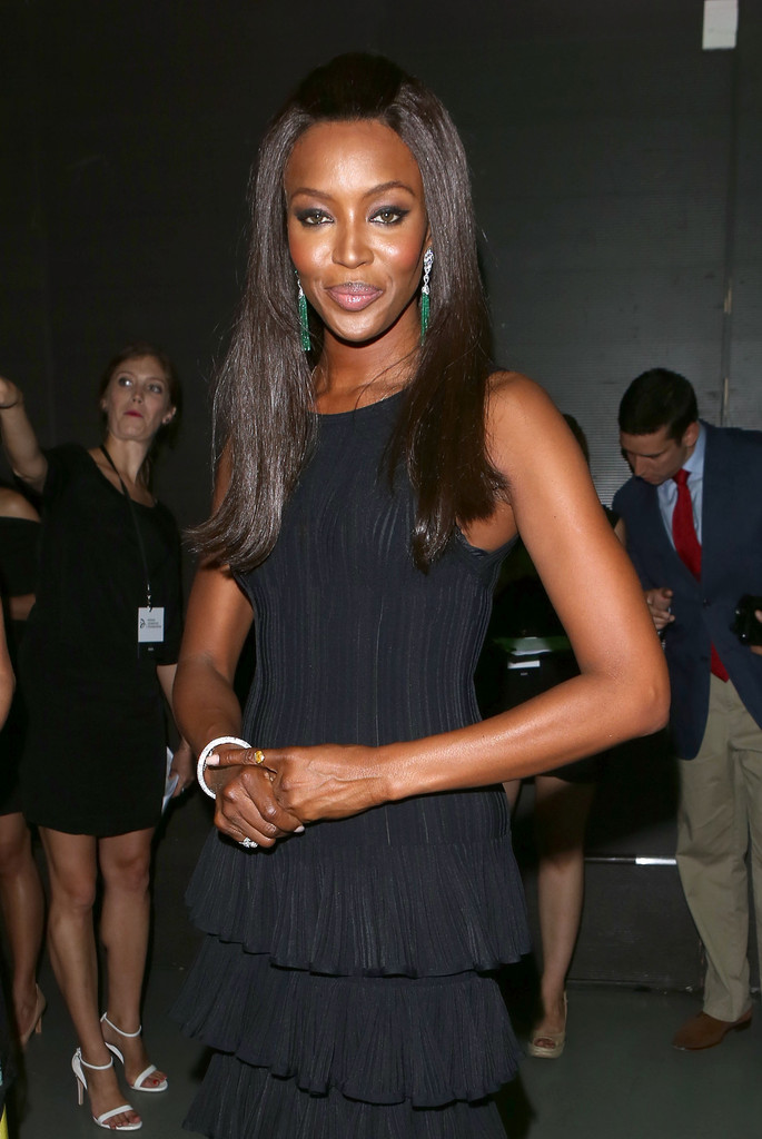 'One time Prince was going to come and play live, but he ...  Naomi Campbell Alaia Dress