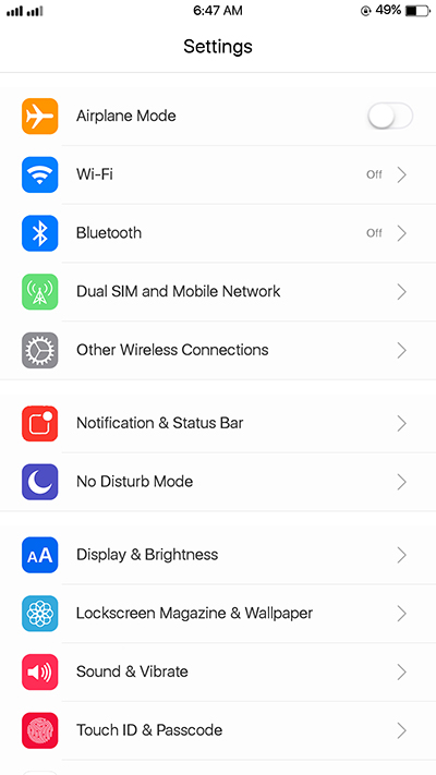 Oppo F3|F3 Plus Ios 11 Theme Update
