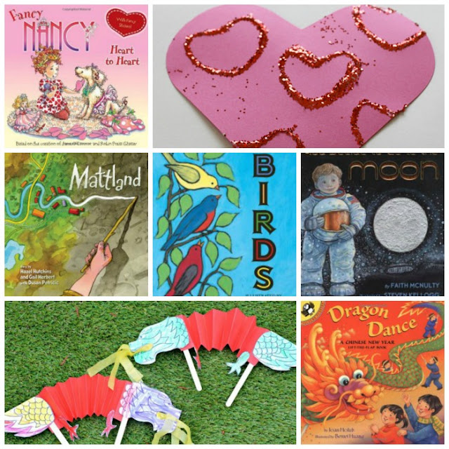 February book recommendations for 4 year olds
