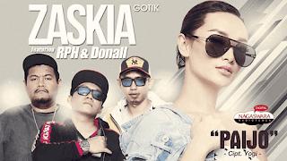 Lirik Lagu Paijo - Zaskia Gotik Ft RPH & Donall