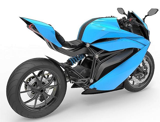 Emflux One sportsbike