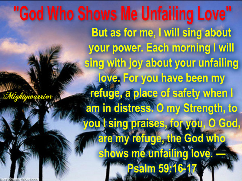 """""""EL SHADDAI, THE ALL SUFFICIENT ONE"""": Mightywarrior=Psalm"""