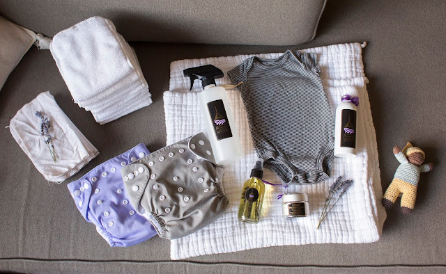 Safe and organic products for baby from Pelindaba Lavender