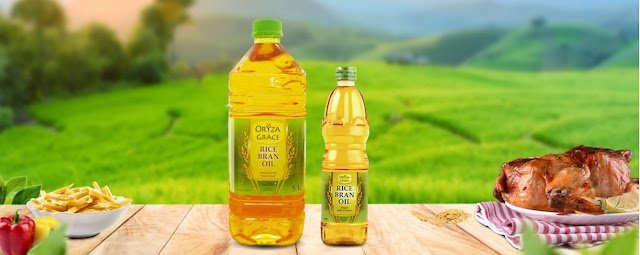 'Oryza Grace' Rice Bran Oil
