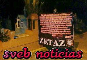 Zetas dejan colgada una narco-manta en Coatzacoalcos Veracruz