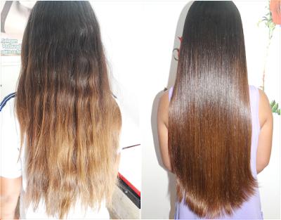 como diminuir o volume dos cabelos com receitas caseiras