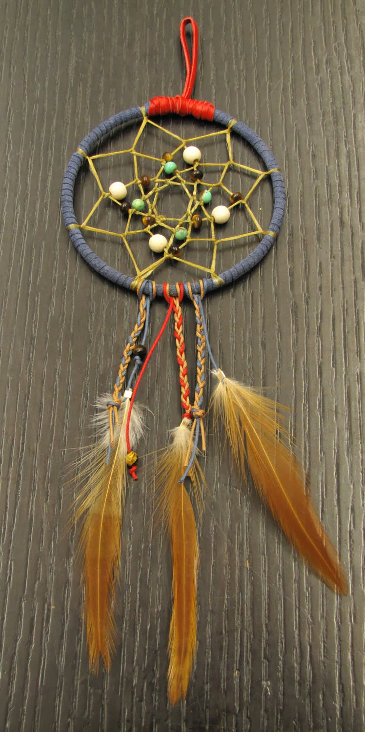 Idle Bead Store Chatter: Creating Dream Catchers