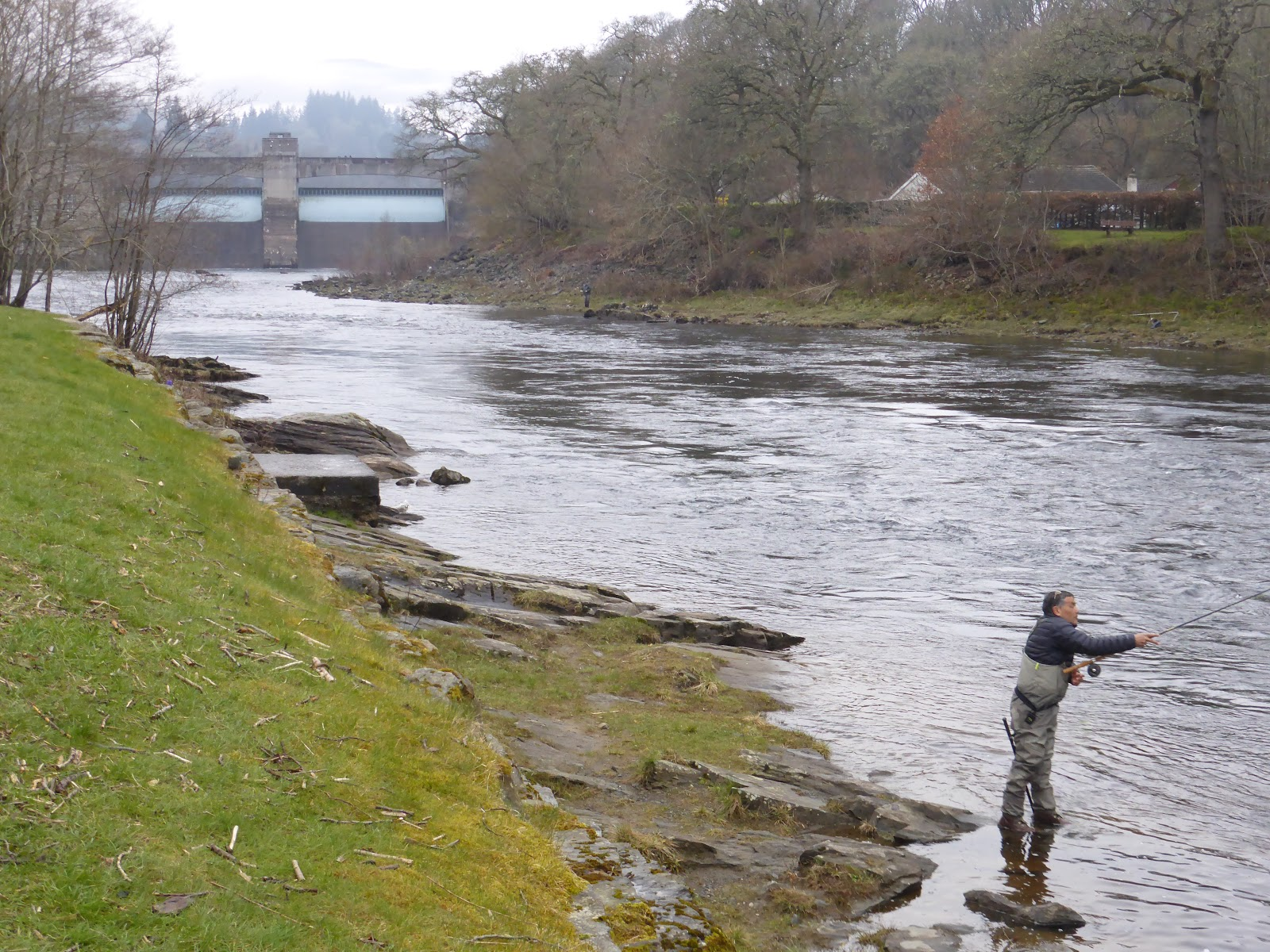 Good day below the Dam - Highland Perthshire Blogs