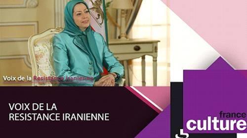 """مقابلة مريم رجوي مع إذاعة فرنسية: """"إيران تعتمد الديكتاتورية الدينية على مقارعة المرأة"""""""
