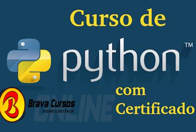 Curso online grátis de Python