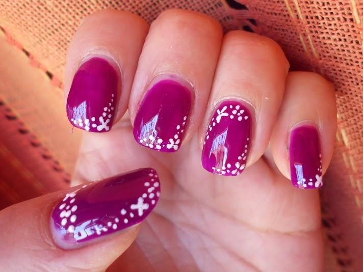 nail art con puntitos
