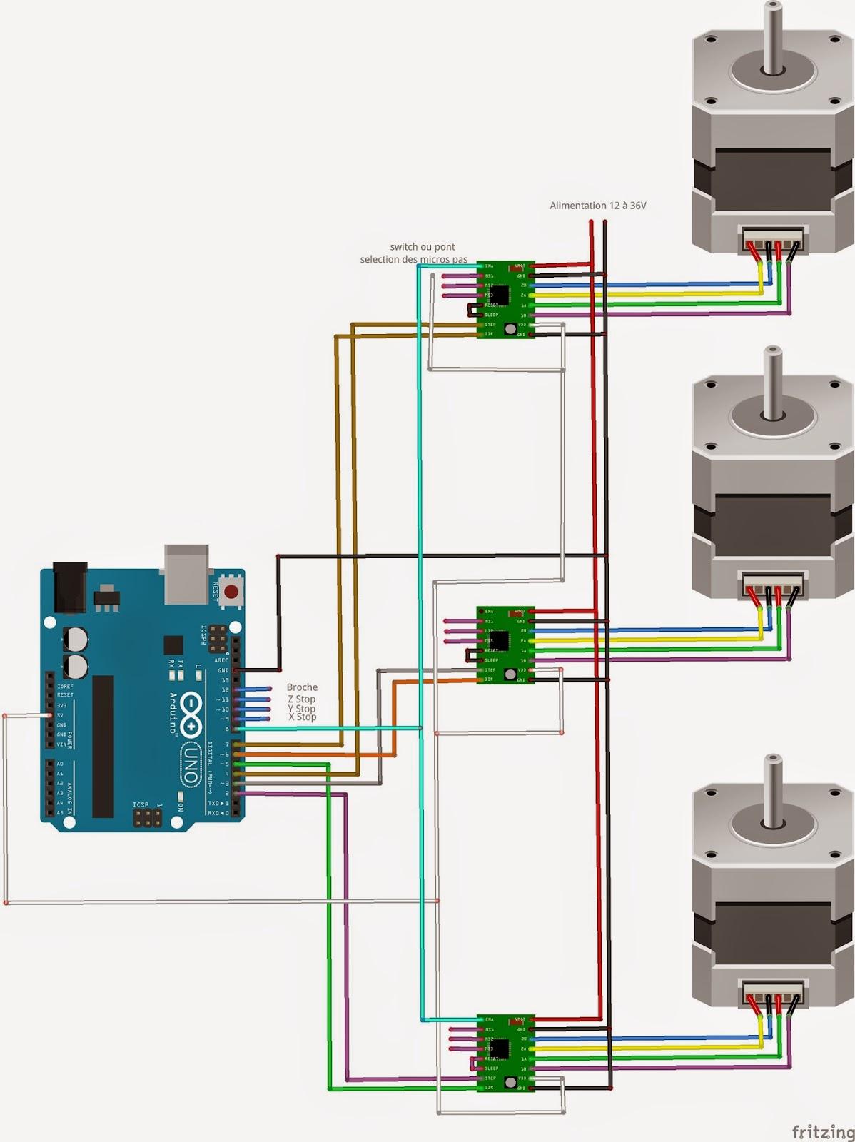 Arduino créations cnc avec et grbl