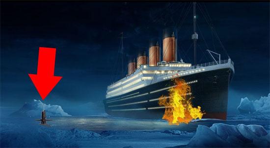 Titanic afundado submarino U-Boat