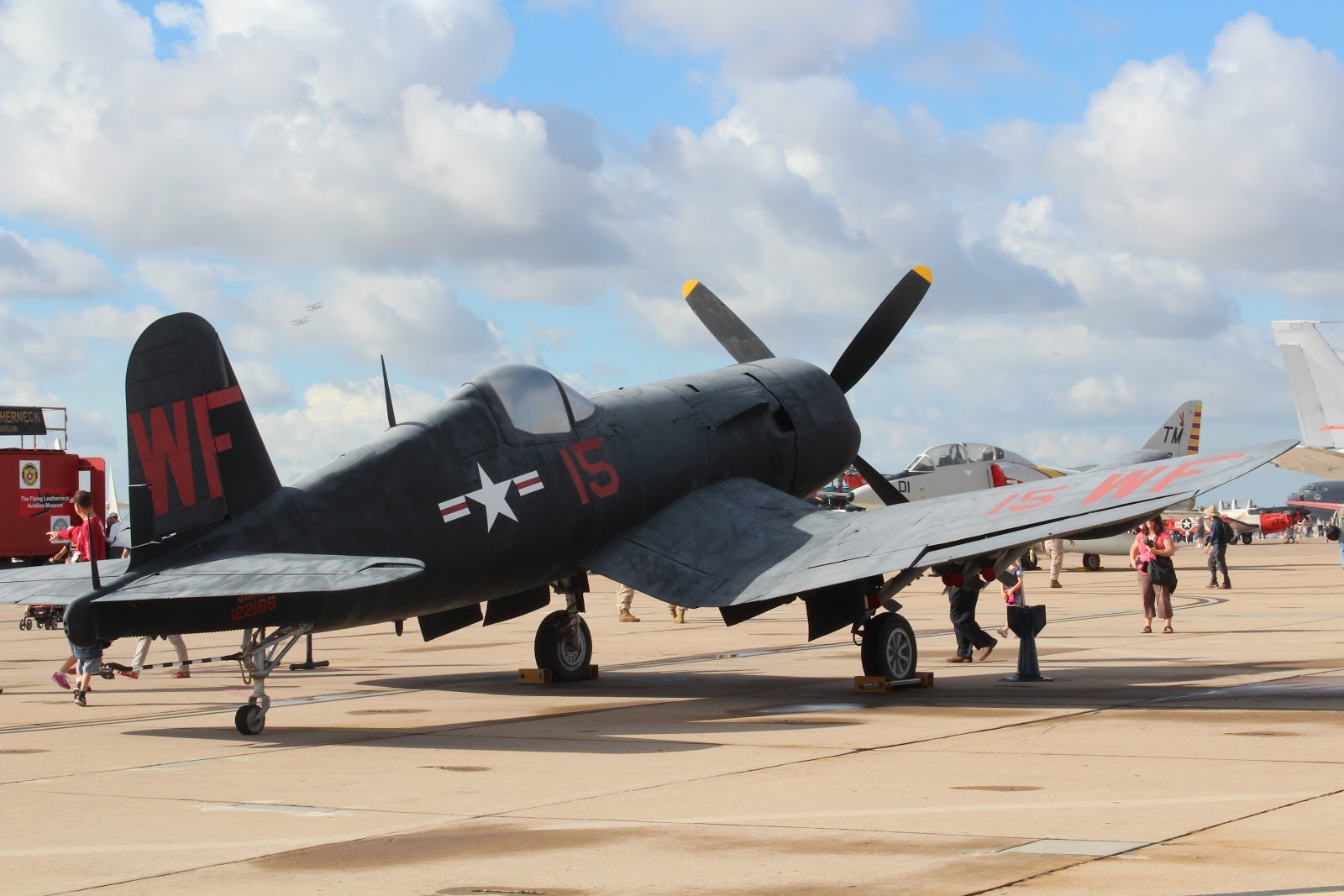 MCAS Miramar Air Show 2012 Chance Vought F4U Corsair